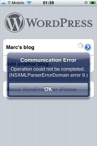 wordpress_iphone_app_error.PNG